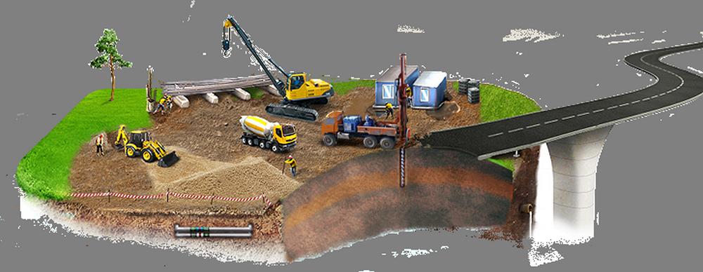 Произведение инженерно-геологических исследований